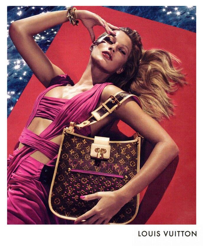 17 best Gisele Bundchen Louis Vuitton images on Pinterest ...