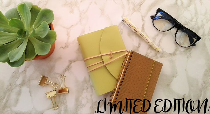 LIMITED EDITION LIGHT GREEN LEATHER JOURNAL