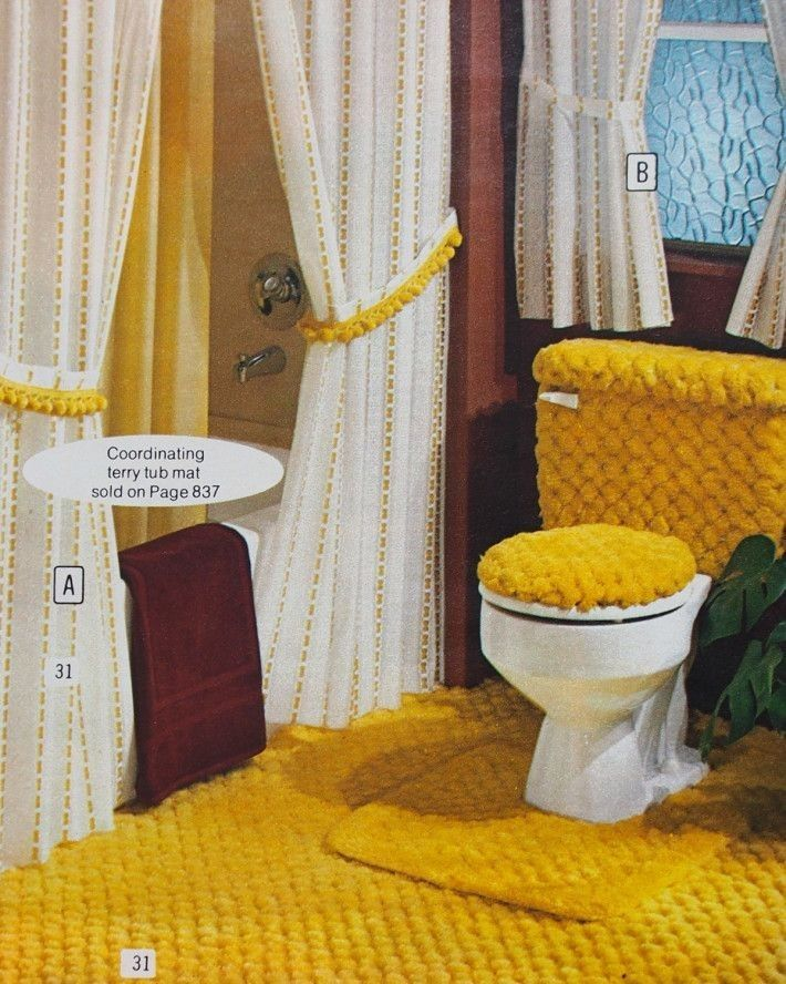 28 best 1970s bathrooms images on Pinterest   Vintage ...