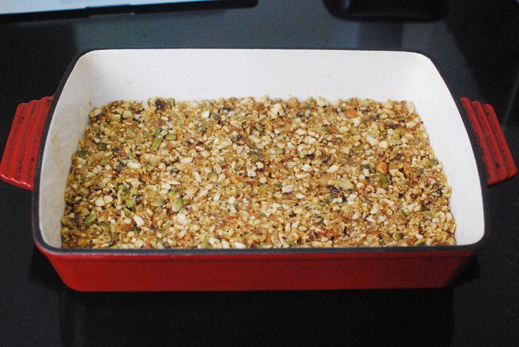 Paleo granola R&D - almost ready!