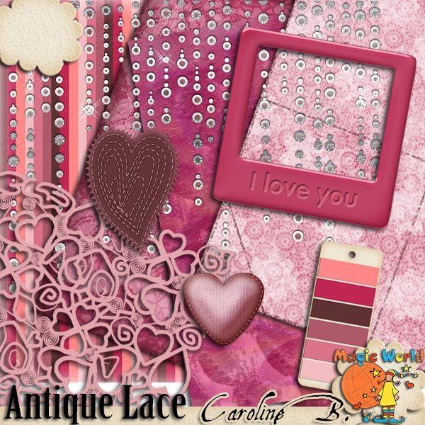 Antique Lace - $1.99 : Caroline B., My Magic World of Digital Design