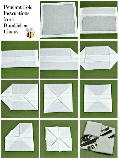 46 best Napkin Fold images on Pinterest Handkerchief crafts