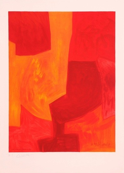 Serge Poliakoff - Galerie de France [Lithograph]