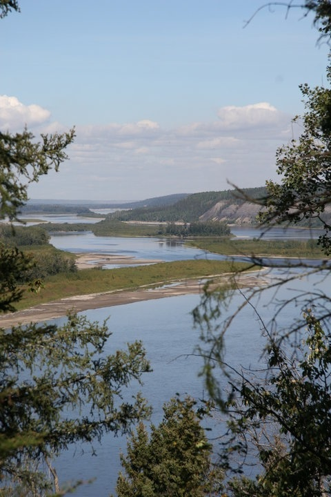 Fort McMurray, Alberta ~ The Athabasca River