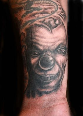 18 best evil clown face tattoos with smoke images on pinterest evil clowns clown tattoo and. Black Bedroom Furniture Sets. Home Design Ideas
