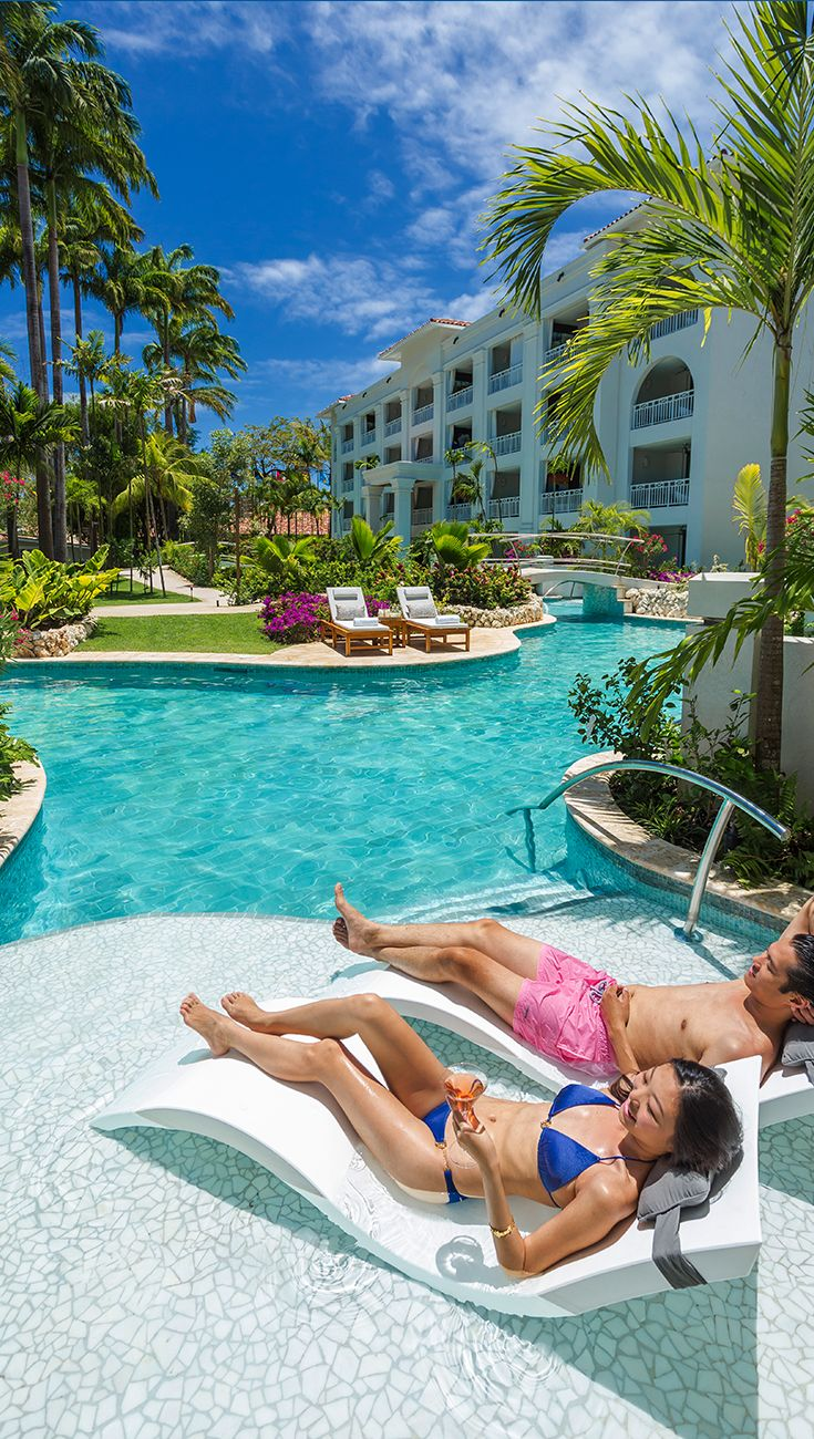No Need To Scour The Resort Looking For The Pool At Sandals Resorts Book A Room With Its Own Private Swim Barbados Resorts Barbados Vacation Sandals Resorts