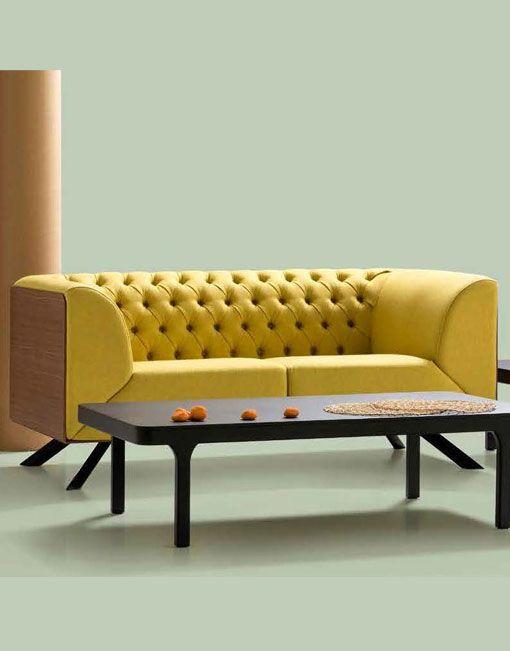 El sofa chester IKON de B&V es una pieza diseada por Alegre Design. Ikon
