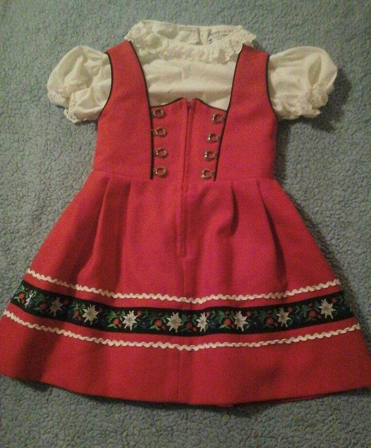 Ernst Licht German Trachten Dirndl Dress Oktoberfest