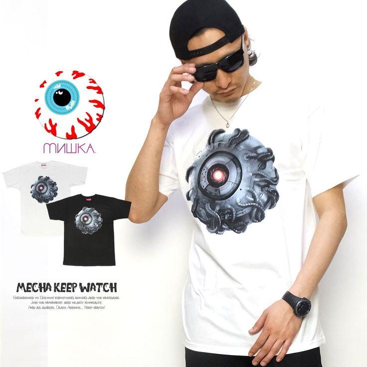 ミシカ MISHKA Tシャツ メンズ MECHA KEEP WATCH :5v4137:DEEP B系・ストリートファッション - 通販 - Yahoo!ショッピング