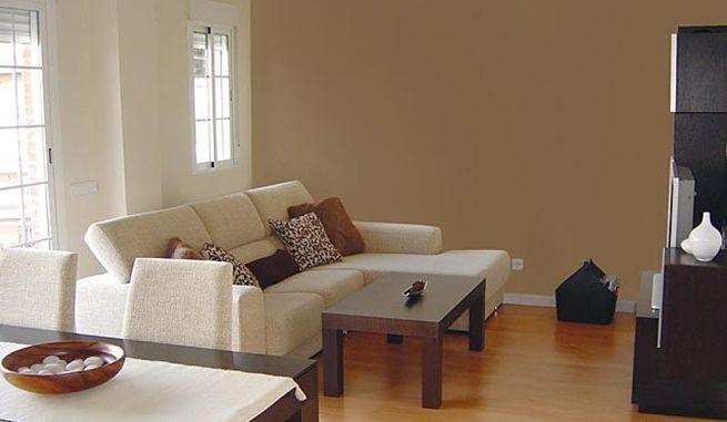 Consejos para pintar un sal n en dos colores decoration - Color pared salon ...