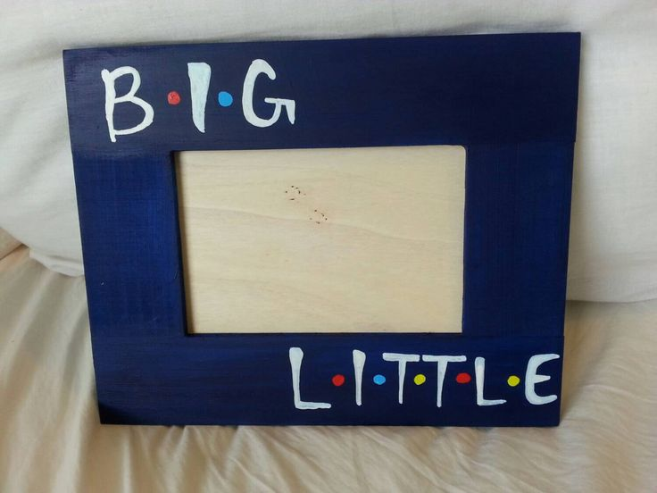 "Hand-Painted Sorority Big and Little ""Friends"" Inspired Wooden Picture Frame by CamelPaintings on Etsy https://www.etsy.com/listing/232931491/hand-painted-sorority-big-and-little"