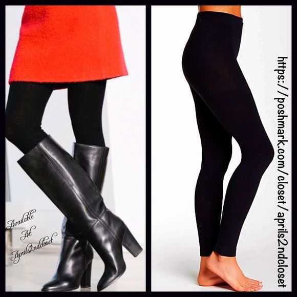 """Black FLEECE LINED Leggings  NEW WITH TAGS  SIZE: L/XL Black FLEECE LINED Leggings/Footless Tights  * Incredibly comfortable & high quality. Solid black.  * Ideal for layering  * Will not fade or shrink; Machine wash.  * Tagged size L/XL will approx. fit 5'4-5'11"""" and 180-200 LBS  * Super Soft & Cozy; Stretch-To-Fit Style  Fabric: 93% Polyester & 7% Spandex. 121800 Color: Jet Black  ✅ Bundle Discounts ✅ No Trades  Boutique Pants Leggings"""