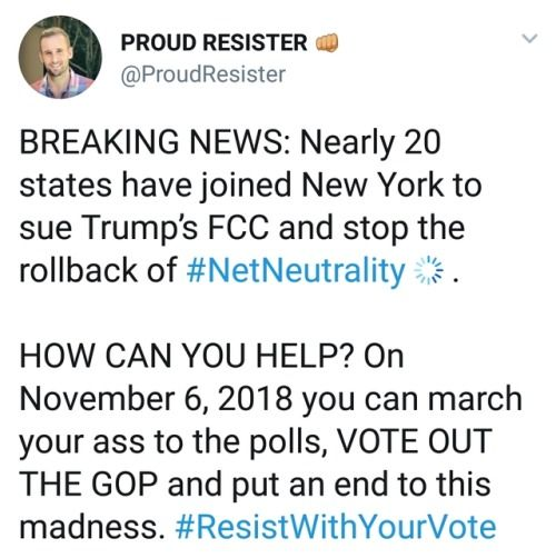 Not one consumer wants to end net neutrality. This is a corporate takeover of the FCC and Republicans in government.