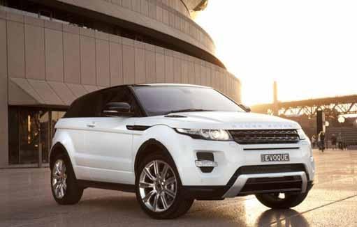 ©Range Rover Evoque by Land Rover Australia