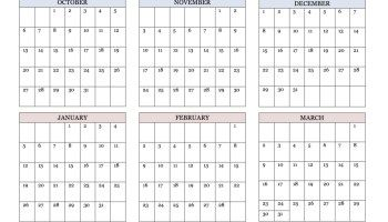 Printable Academic Calendar                                                                                                                                                                                 More
