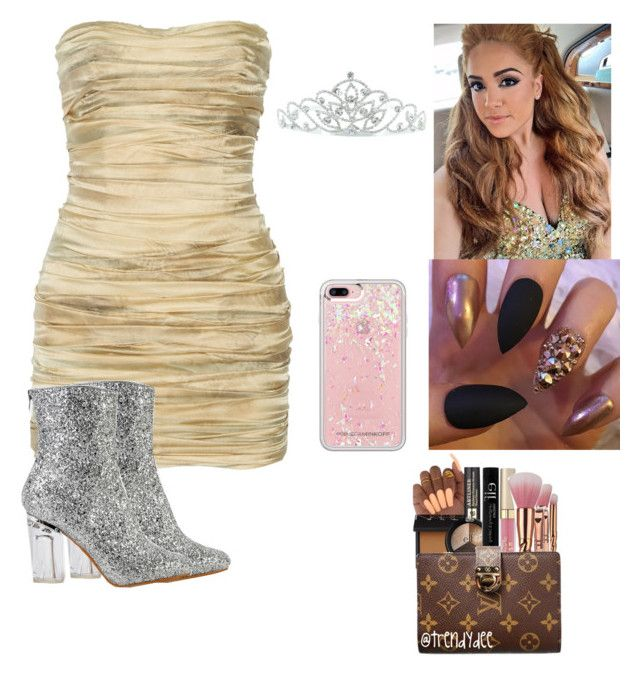 """""""Homecoming Queen"""" by ashfordkeyonna ❤ liked on Polyvore featuring Balmain, Rebecca Minkoff and Kate Marie"""