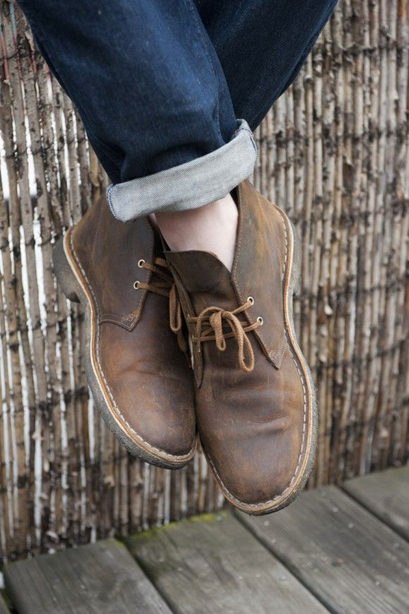The Style Blogger | Clarks | Desert Boots for fall