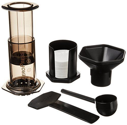 Aeropress Coffee and Espresso Maker AeroPress http://www.amazon.com/dp/B0047BIWSK/ref=cm_sw_r_pi_dp_vHvvwb1AD5XSD
