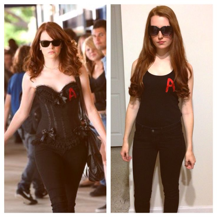 Emma Stone costume from Easy A