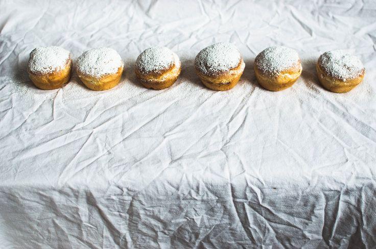 Muffiny na drożdżach z czekoladą
