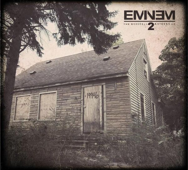 Eminem reveals MMLP2 track listing via Twitter, collaborations with Rihanna, Kendrick Lamar and more