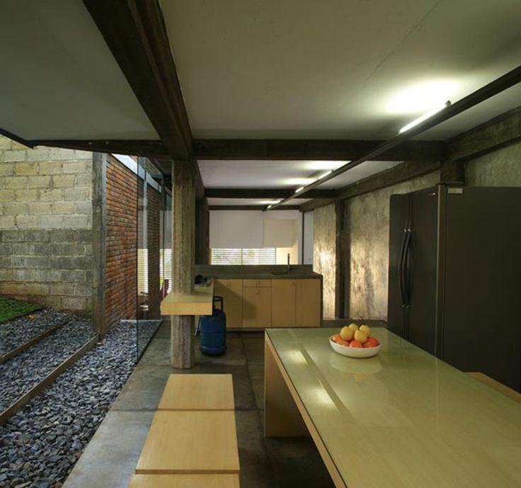 Wisnu & Ndari House | djuhara + djuhara #kitchen #dining