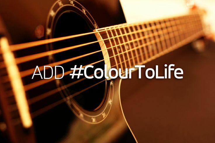 What's your perfect instrument to add #ColourToLife