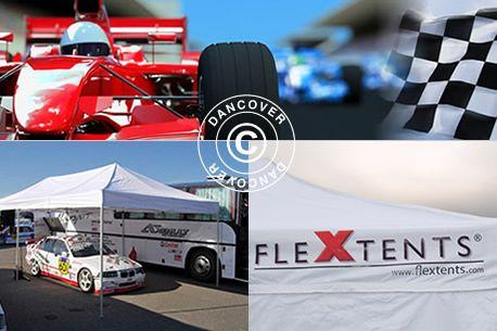 Racing tents instant pop up racing tentsFoldetelte Flextents - Racing telte