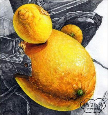 #레몬 #개체묘사