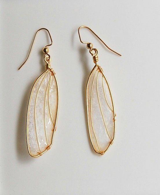 Enchanting Wing Earrings by frankie
