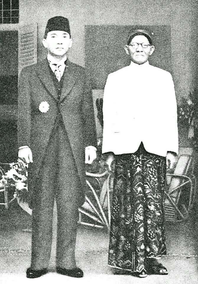 Soekarno & his father