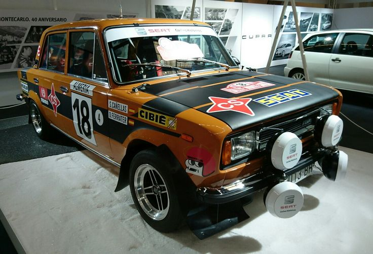 "Seat 1430 "" Rally"" ,  Auto-retro 2016, X. Colomer"