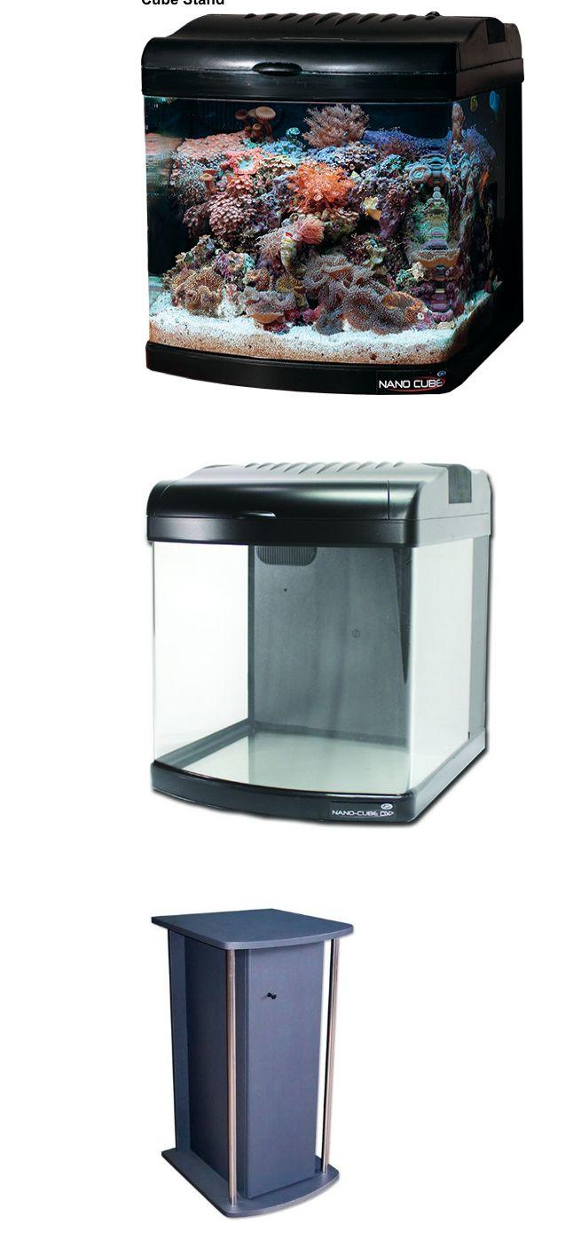 Jbj aquarium fish tank siphon gravel vacuum cleaner - Animals Fish And Aquariums Jbj 12 Gallon Nano Cube Deluxe Aquarium And Nano Cube Stand