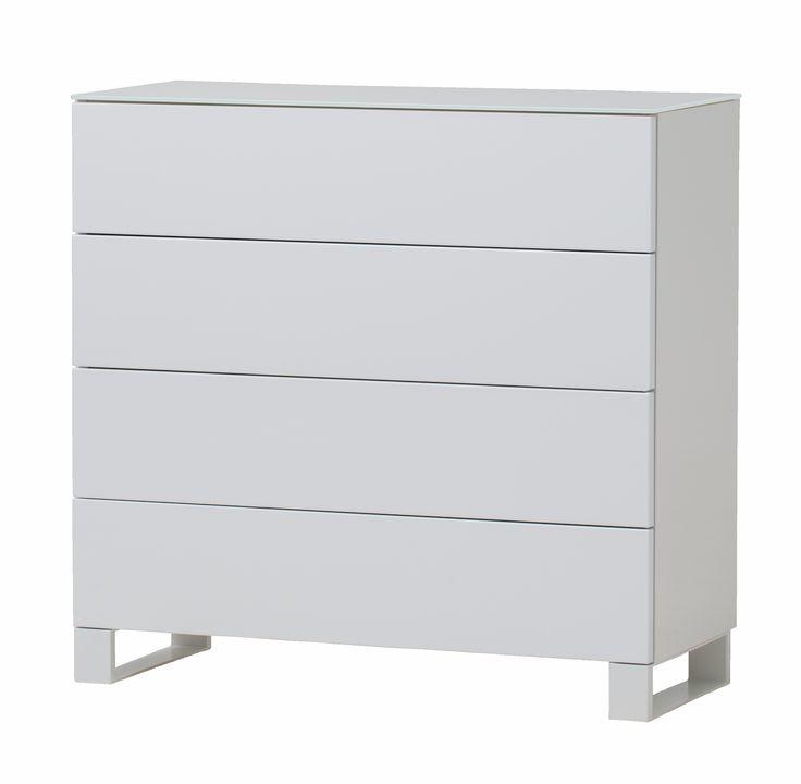 Zara byrå - 4 lådor från Nurmela hos ConfidentLiving.se
