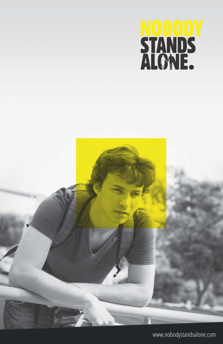 Nobody should have to stand alone when it comes to cyberbullying. www.nobodystandsalone.com