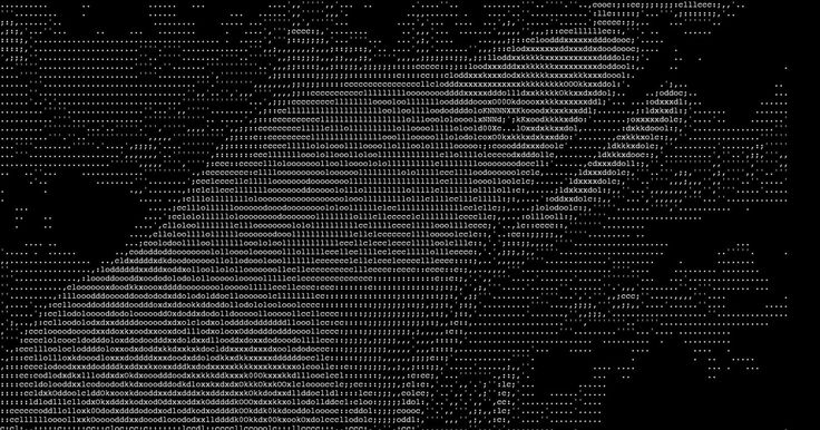 One Line Ascii Art Confused : The best ascii art ideas on pinterest line