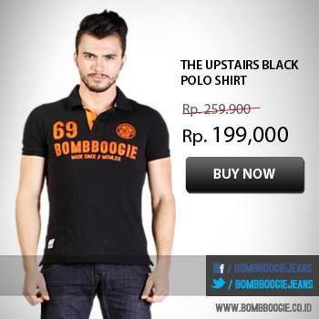 Yang belum belanja di Bombboogie online,buruan deh! Koleksi Polo Shirt-nya keren-keren lho >>>  www.bombboogie.co.id