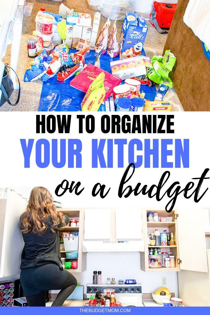 Organisationstipps für kleine Räume mit kleinem Budget. Heute zeige ich Ihnen, wie ich …   – Best of The Budget Mom