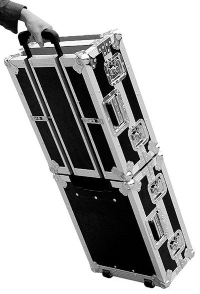 Road Ready - Road Ready Cases - DJ Gear - Turntable Cases - STACKABLE TURNTABLE CASE COMBO