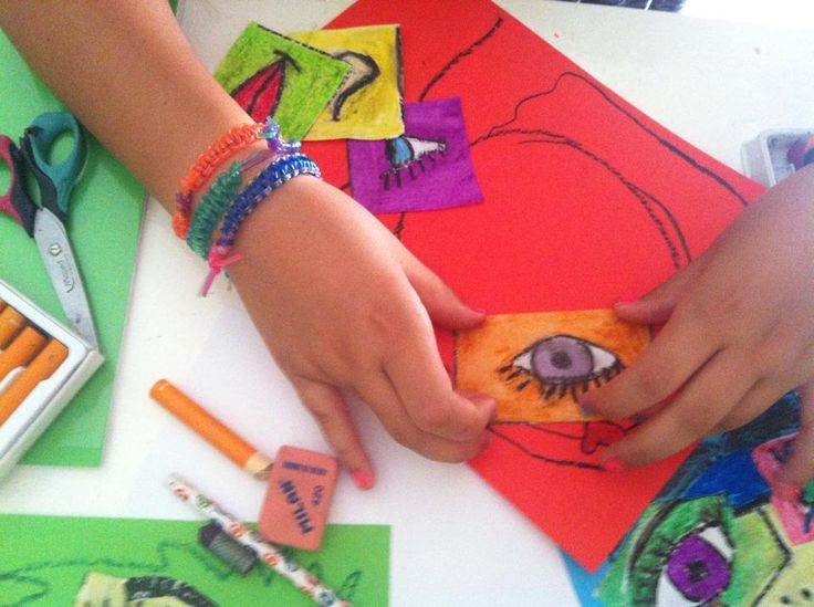 Taller sobre Picasso #arte #niños CaminArt