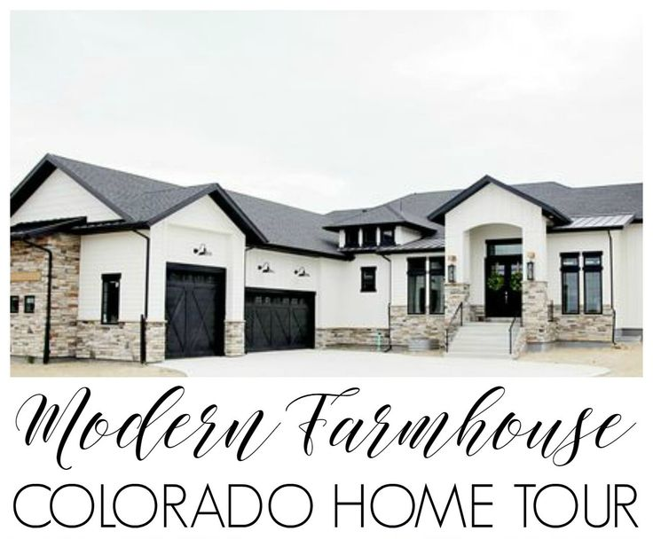 custom built modern farmhouse home tour with household no 6 - Modern Farmhouse Plans