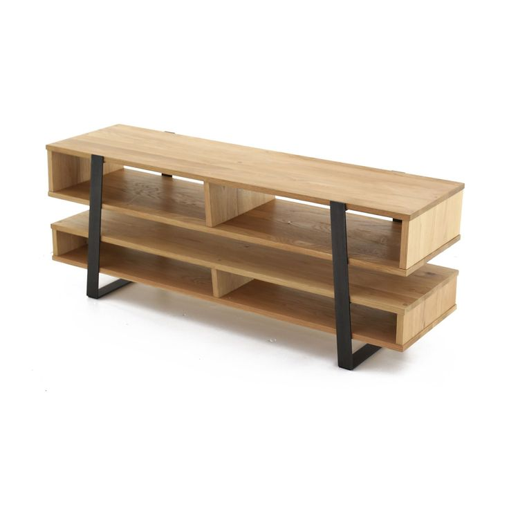17 meilleures id es propos de meuble tv chene massif sur for Meuble xvii