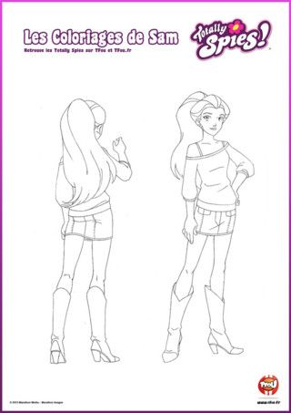 Pinterest the world s catalog of ideas - Comment dessiner les totally spies ...