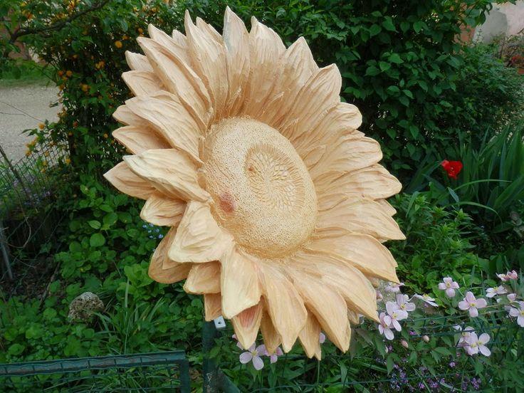 GIRASOLE  http://lesculturedirossano.blogspot.it/ Le sculture di Rossano