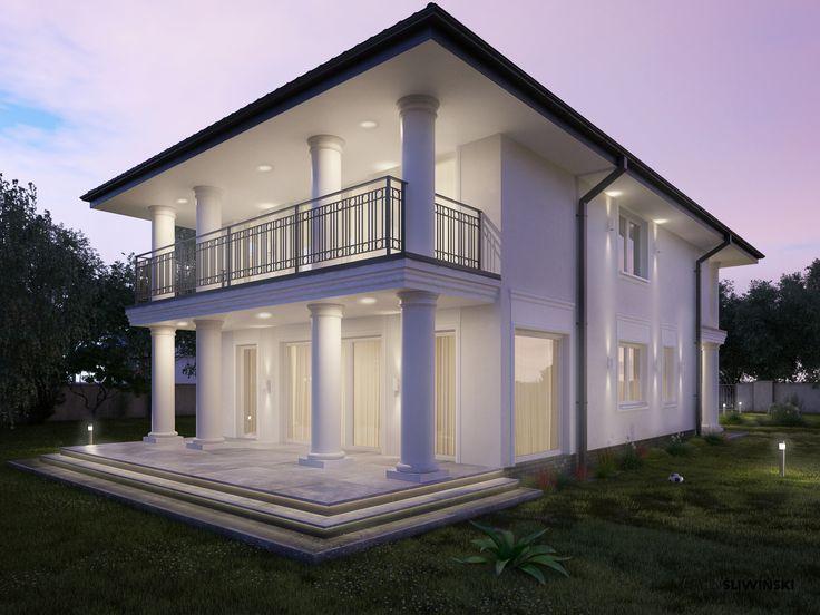 Home,  elevation ; interior designer,architect Marcin Śliwiński Poland;  Source: https://www.facebook.com/architectmarcinsliwinski?fref=ts