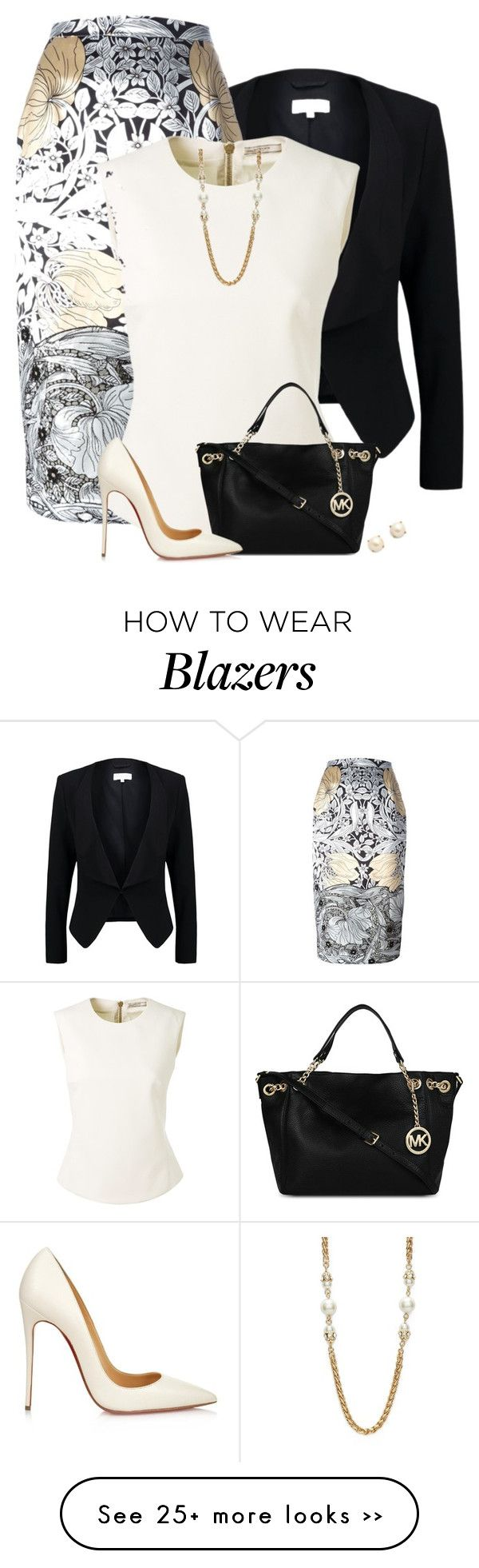 """Work Wear ~ One Floral Item"" by houston555-396 on Polyvore"