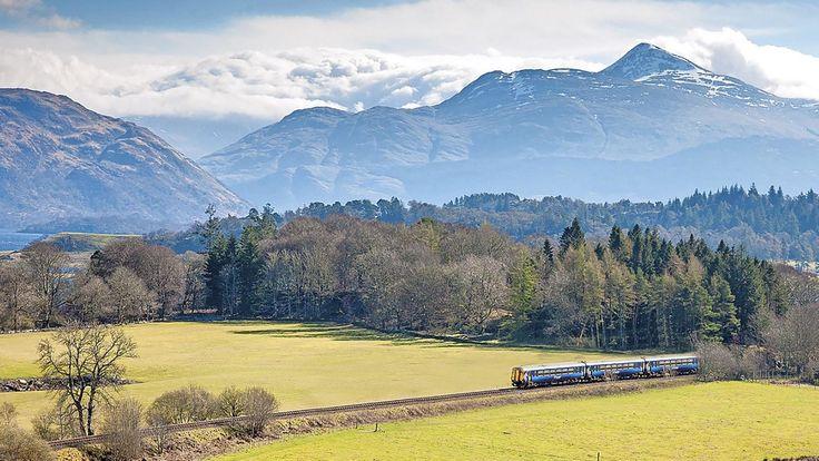 En tur gennem det skotske højland i tog er intet mindre end fantastisk. Foto: PR