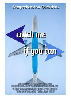 """This movie guide accompanies the movie """"Catch Me If You Can"""" This has 22 questions in chronological order, and has additional writing tasks. One is to write a short summary about the movie and the other is critical thinking in why they believe Frank committed fraud."""