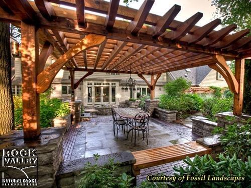 Backyard Nature Store Oakville : 1000+ images about Pergola Kitchen Ideas on Pinterest  Modern kitchen