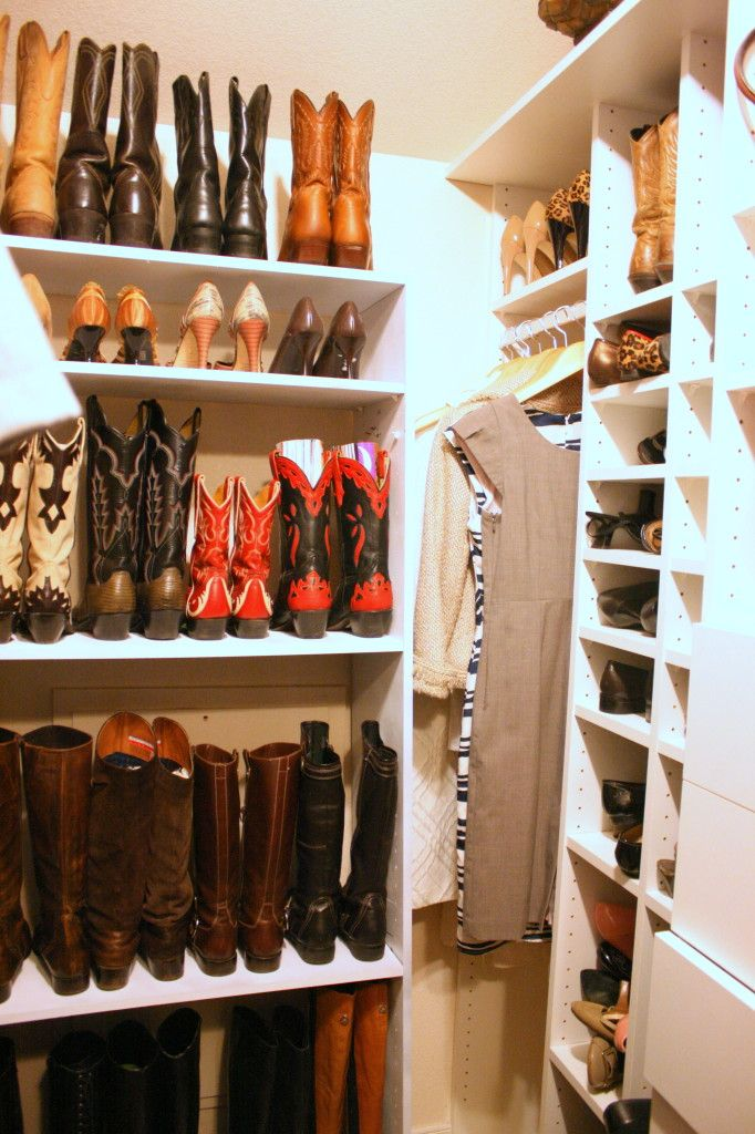 Cowboy Boot Storage.. Are You Freaking Kidding Me This Is Like Heaven Right  Here